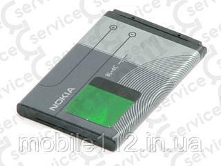Аккумулятор на Nokia BL-4C, 890mAh 108/ 1202/ 1203/ 1661/ 2220s/ 2650/ 2652/ 2690/ 3500c/ 5100/ 5130/ 6100/ 6101/ 6133/ 6103/ 6125/ 6131/ 6136/ 6170/