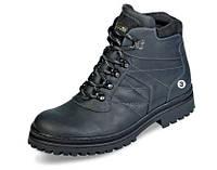 Мужские ботинки зимоходы МИДА 14900 из натуральной кожи на меху.