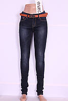 Теплые женские джинсы Cudi (код 9957), фото 1