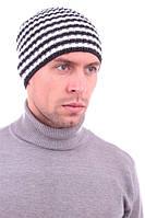 Стильная шапка на зиму. 50% шерсть.