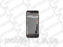 Дисплей для Asus A68 PadFone 2/ T008 + touchscreen, белый, с передней панелью