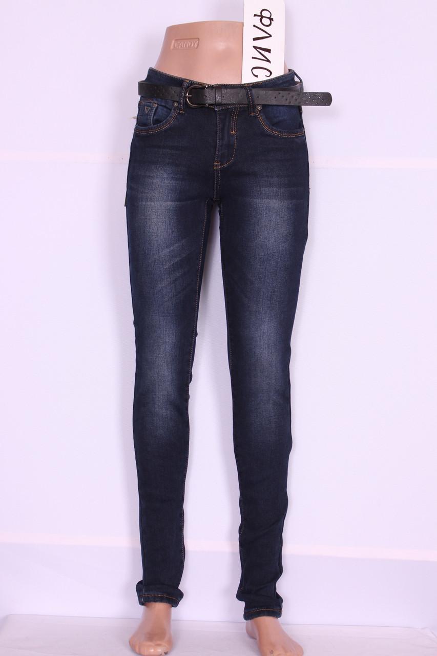 Зимові жіночі джинси Cudi (код 9955)