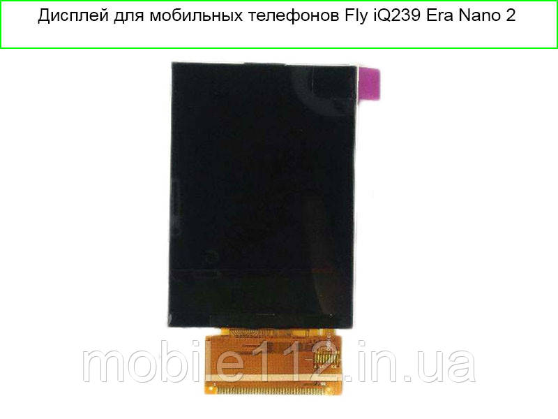 Дисплей для Fly iQ239 Era Nano 2