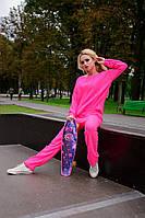 Теплый женский свитер Лало Modus  фуксия 44-48 размеры