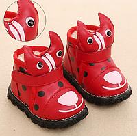 Зимові чобітки для маленьких дівчаток 7773e607b9295