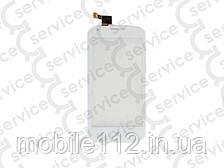 Тачскрин для Fly iQ4406 Era Nano 6, белый