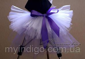 Юбка пачка нежно-фиолетовая