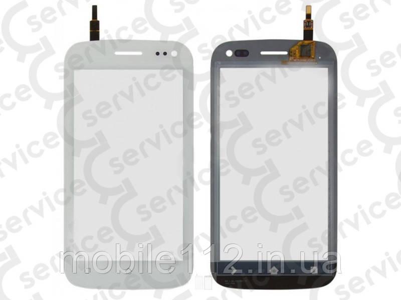 Тачскрин для Fly iQ450 Horizon, белый big ic(6mm)/ small ic(5mm)