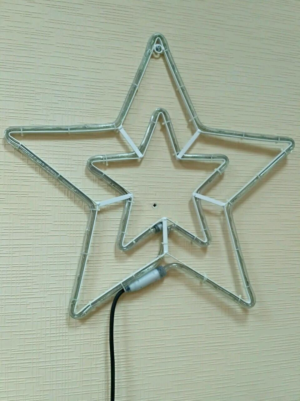 Светодиодное украшение DELUX MOTIF Star синяя