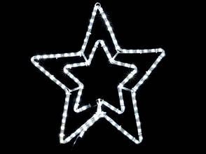 Светодиодное украшение DELUX MOTIF Star синяя, фото 3