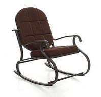 Кресло-качалка METAL brown
