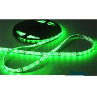 Светодиодная лента SMD 5050 на 60 диодов в 1-м метре, 14,4Вт/1м, зеленый цвет, герметичная