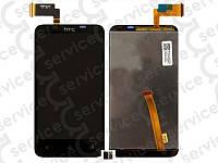 Дисплей для HTC T328d Desire VC + touchscreen, чёрный
