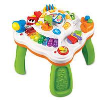 Музыкальный игровой столик Weina 2092