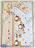 """Детское постельное белье в кроватку """"Карапуз"""" комплект 6 ед. (сова бежевый), фото 5"""