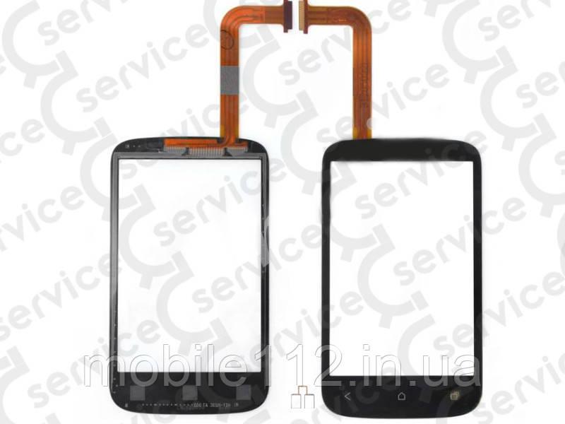 Тачскрин для HTC A320e Desire C, чёрный, оригинал (Китай)