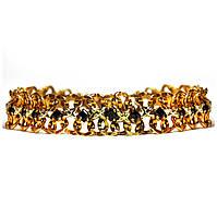 Золотой браслет с цирконием 83622