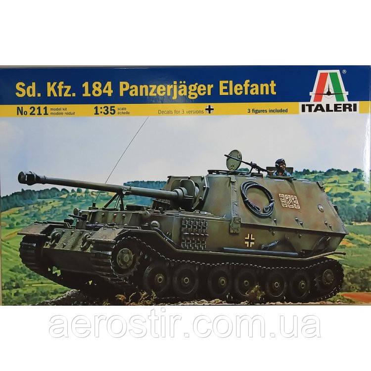 Sd.Kfz.184 'ELEFANT' 1/35 Italeri 211