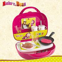 Мини-кухня в чемоданчике Маша и Медведь Smoby 310601