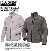 Куртка флисовая NORFIN NORTH размер М, цвет бежевый