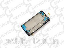 Дисплей для Huawei Honor 3C Lite + touchscreen, чёрный, с передней панелью