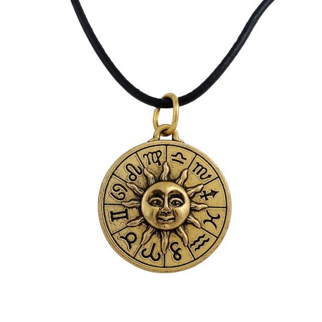 Астрологический кулон Солнце