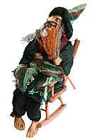 """Игрушка """"Баба Яга в кресле качалке"""" со звуковым и световым эффектом"""