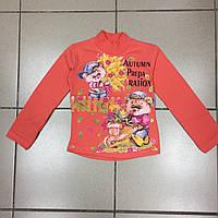 Детский Гольф (начёс) для девочек  р. 6 лет