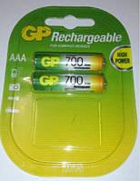 Аккумуляторы R03 (минипальчиковые)GP700 1лот/2шт.