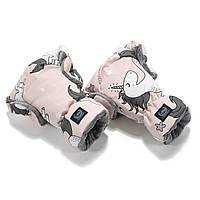 Рукавички на коляску La Millou Unicorn Sugar Bebe - Grey