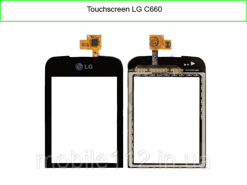 Тачскрин для LG C660