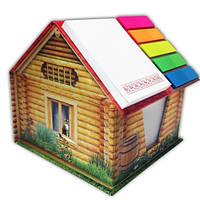 Канцелярский набор типа NoteHouse «Деревянный дом», фото 1
