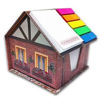 Канцелярский набор типа NoteHouse «Кирпичный дом»
