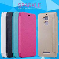 Кожаный чехол Nillkin Sparkle для Asus Zenfone 3 Max(ZC520TL) (5 цветов)
