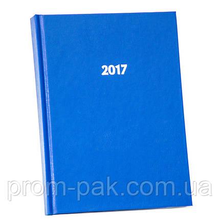 Простой ежедневник датированный Strong А5,синий 2020, фото 2