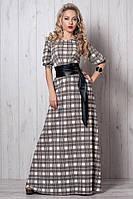 Шикарное платье с модным поясом