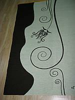 Плед с логотипом компании.