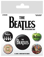 """Набор значков """"The Beatles (White)"""