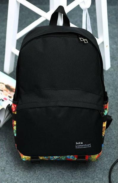 Мужской молодежный рюкзак с принтом