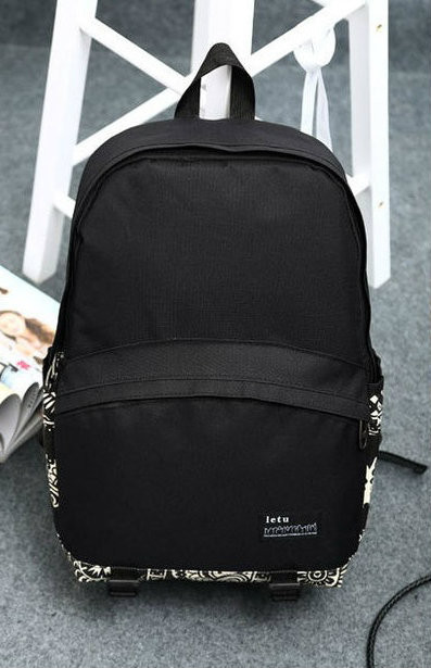 мужской рюкзак с геометрическим узором