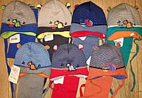 Детская шапка и шарф