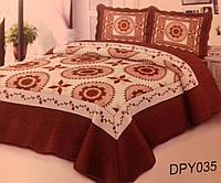 Стеганное покрывало на кровать 220х240, пэчворк