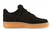 """Кроссовки Nike Air Force 1 Low """"Black Gum"""" - """"Черные Коричневые"""""""