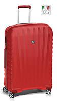 Большой чемодан из прочного пластика 85 л. Roncato UNO ZSL Premium 5166 0909 красный