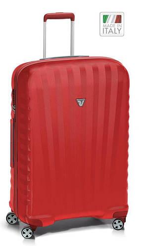 Большой чемодан из прочного пластика 85 л. Roncato UNO ZSL Premium 5166/09/09 красный