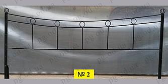 Ограда одинарная (двойная) №2