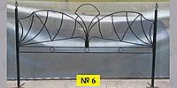 Ограда одинарная (двойная) №6