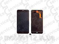 Дисплей для Meizu M1 Note + touchscreen, чёрный
