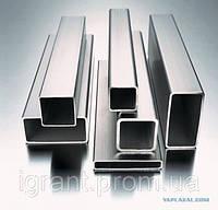 Алюминиева труба профильна 80х20х2,0, 100х20х2, 60х60х3,5, 50х50х3 АД31, АД0 ГОСт