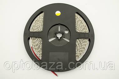 LED лента теплый белый SMD 3528 120д/м, (5 м) герметичная